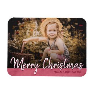 Magnet Flexible Image 2017 de vacances de photo de famille de