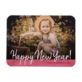 Magnet Flexible Image 2018 de vacances de photo de famille de
