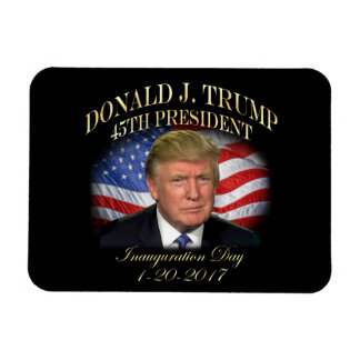 Magnet Flexible Inauguration du Président Donald Trump