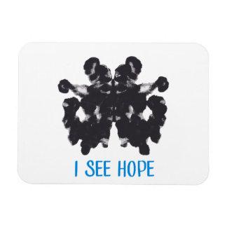 Magnet Flexible Je vois l'aimant d'espoir