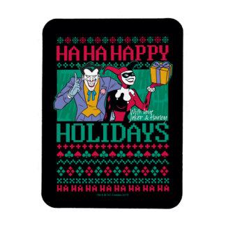 Magnet Flexible Joker et Harley Quinn de Batman | bonnes fêtes