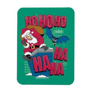 Magnet Flexible Joker le père noël de Batman | montant la cheminée