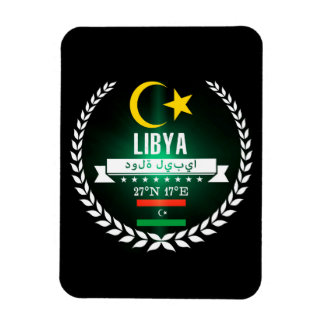 Magnet Flexible La Libye
