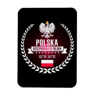 Magnet Flexible La Pologne