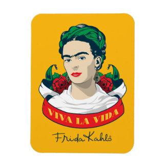 Magnet Flexible La Vida de vivats de Frida Kahlo |