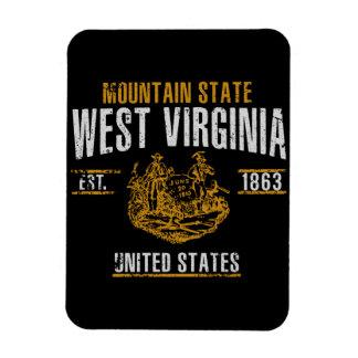 Magnet Flexible La Virginie Occidentale