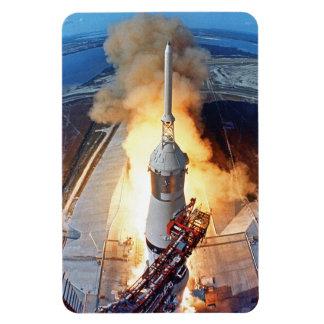 Magnet Flexible Lancement de Rocket d'alunissage de la NASA Apollo