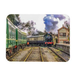 """Magnet Flexible Le """"9681"""" train de vapeur"""