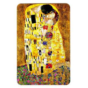 Magnet Flexible Le baiser de Gustav Klimt, art
