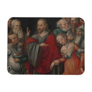 Magnet Flexible Le Christ et l'adultère