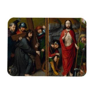 Magnet Flexible Le Christ portant la croix