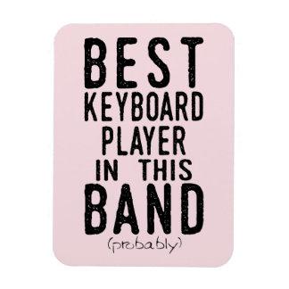 Magnet Flexible Le meilleur joueur de clavier (probablement)