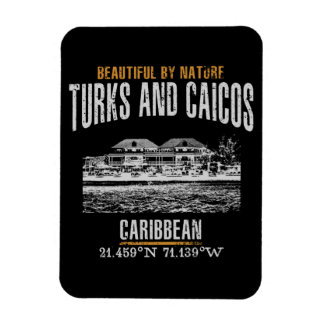 Magnet Flexible Les Îles Turques et Caïques