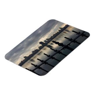 Magnet Flexible Lever de soleil NYC de New York City de réservoir