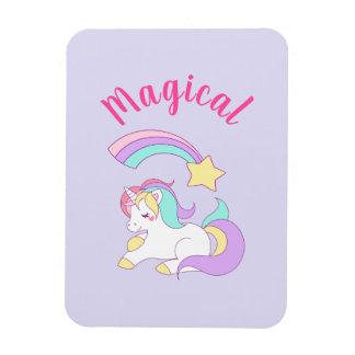 Magnet Flexible Licorne magique avec l'étoile filante