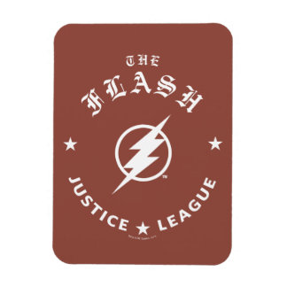 Magnet Flexible Ligue de justice   le rétro emblème instantané de