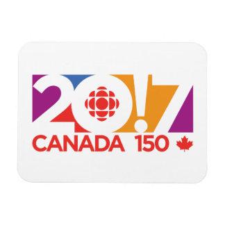 Magnet Flexible Logo 2017 de CBC/Radio-Canada