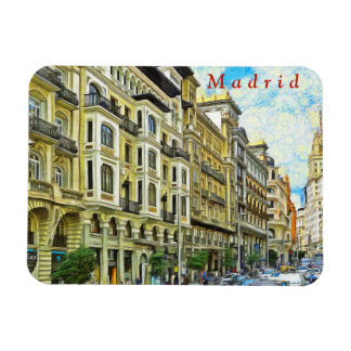 Magnet Flexible Madrid. Architecture de mamie Vía.