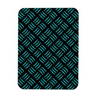 Magnet Flexible Marques bleues et noires de griffe