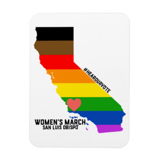 Magnet Flexible Mars SLO des femmes de LGBTQ