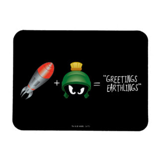 Magnet Flexible MARVIN l'équation de MARTIAN™ Emoji