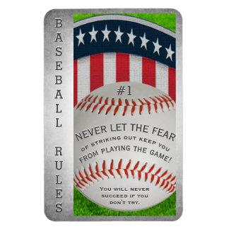 Magnet Flexible Message inspiré de base-ball
