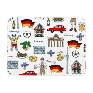 Magnet Flexible Motif de symboles de l'Allemagne |