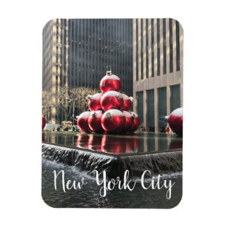 Magnet Flexible Noël central NYC de New York City Rockefeller