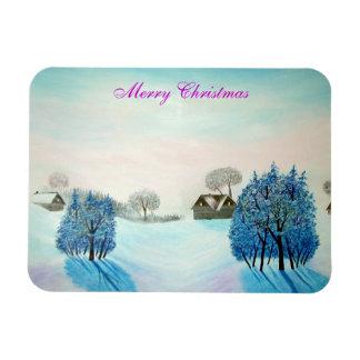 Magnet Flexible Noël suisse de bleu d'opus
