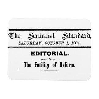 Magnet Flexible Noir éditorial de 1904 octobre de norme socialiste