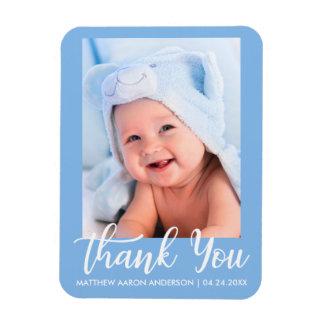 Magnet Flexible Nouveaux bleus layette de Merci