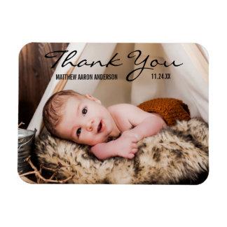 Magnet Flexible Nouvel aimant BT de faire-part de photo de bébé de