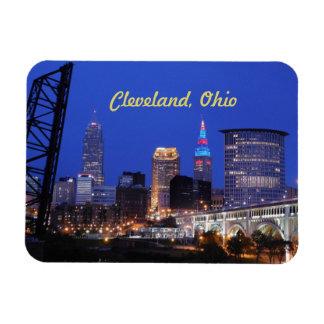 Magnet Flexible Nuit de Cleveland sur l'aimant de ville