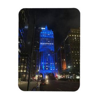 Magnet Flexible Nuit de l'architecture NYC de New York City Park