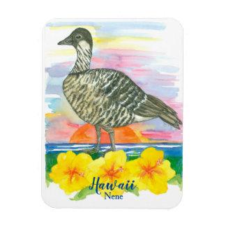 Magnet Flexible Oiseau d'état hawaïen d'oie de Nene d'Hawaï