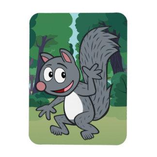 Magnet Flexible Ondulation grise d'écureuil de Rick | de garde