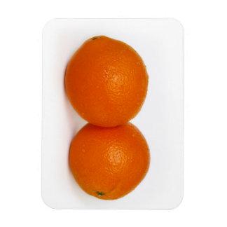 Magnet Flexible Orange avec des baisses de l'eau