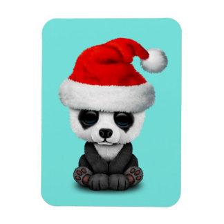 Magnet Flexible Ours panda de bébé utilisant un casquette de Père