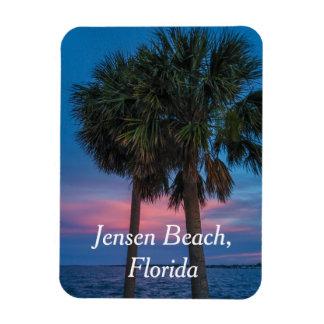 Magnet Flexible Palmier de plage de Jensen et aimant de coucher du