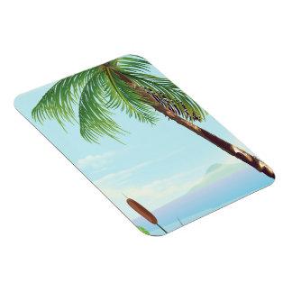 Magnet Flexible Palmier par la plage