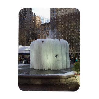 Magnet Flexible Parc congelé New York City NYC de Bryant de