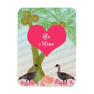 Magnet Flexible Paumes de Nene d'amour de cadeaux d'Hawaï