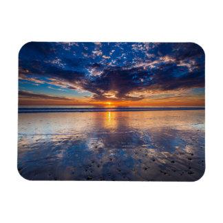 Magnet Flexible Paysage marin dramatique, coucher du soleil, CA
