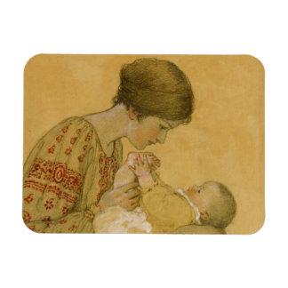 Magnet Flexible Peinture vintage de maternité