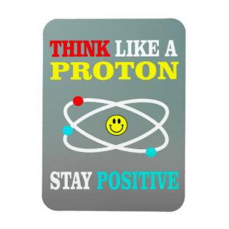 Magnet Flexible Pensez comme Proton