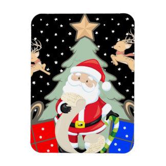 Magnet Flexible Père Noël a une liste