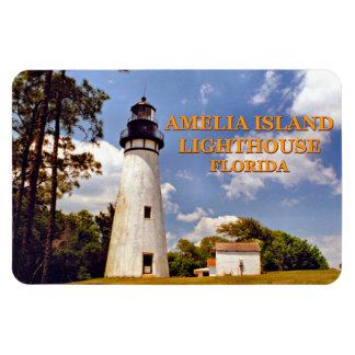 Magnet Flexible Phare d'Amelia Island, aimant de la Floride Flexi