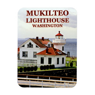 Magnet Flexible Phare de Mukilteo, aimant de Washington Flexi