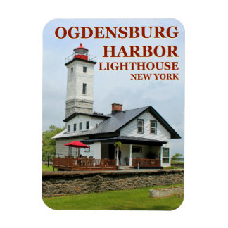 Magnet Flexible Phare de port d'Ogdensburg, aimant de New York