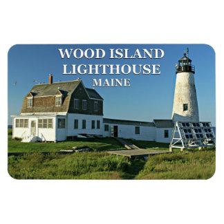 Magnet Flexible Phare en bois d'île, aimant du Maine Flexi